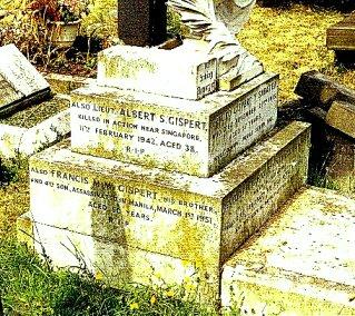Gispert family grave